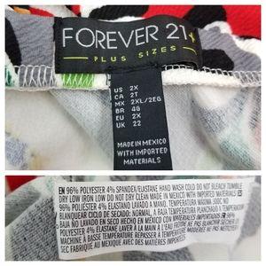 Forever 21 Dresses - Forever21 Plus 2X Strapless Babydoll Mini Dress